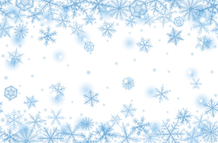 cool backgrounds: Abstract Christmas background with snowflakes.