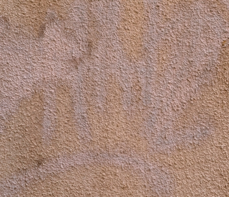 Painted concrete wall fragment  May be used as background or texture                                photo