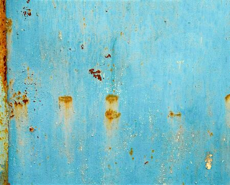 Rusty painted metal  May be used as background or texture  Stock Photo - 15440980