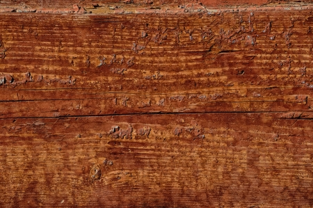 Old wooden wall with cracked paint traces Stock Photo - 15768746