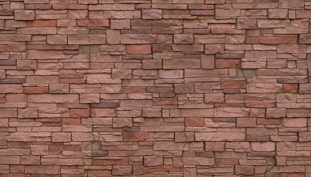 Pink brick wall pattern  May be used as background or texture Stock Photo - 15821225