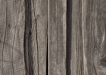 Aged damaged wooden planks  Useful as grunge background  photo