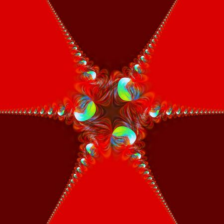 Abstract festive background  May be used fore gift decoration  photo