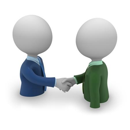 Businessman handshake Foto de archivo