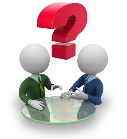 gespr�ch: Businessmen Verhandlungen Lizenzfreie Bilder
