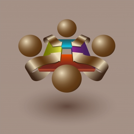 negotiations: Abstract negotiations concept
