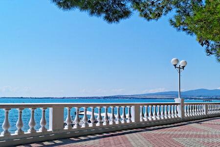 Sea embankment