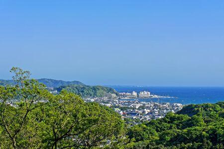View of Kamakura city near Tokyo, Japan Stock Photo