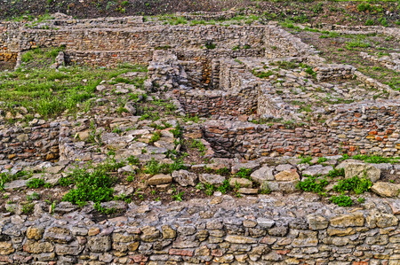 archeological: Archeological dig of the city of Tanais  founded in the first quarter of the 3rd century by Greek colonists