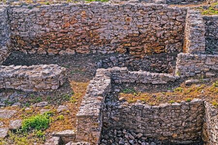 Archeological dig of the city of Tanais  founded in the first quarter of the 3rd century by Greek colonists