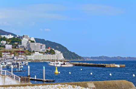 View of Sagami Bay near Atami. Shizuoka, Japan