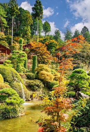 Japanese park near Nikko town,Tochigi Prefecture, Japan
