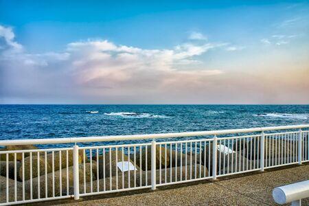 Seaside near Kamakura city in Kanagawa Prefecture, Japan
