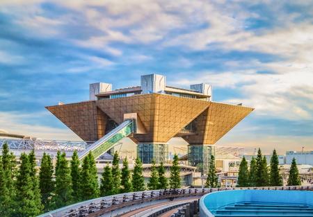 Tokyo International Exhibition Center aka Tokyo Big Sight