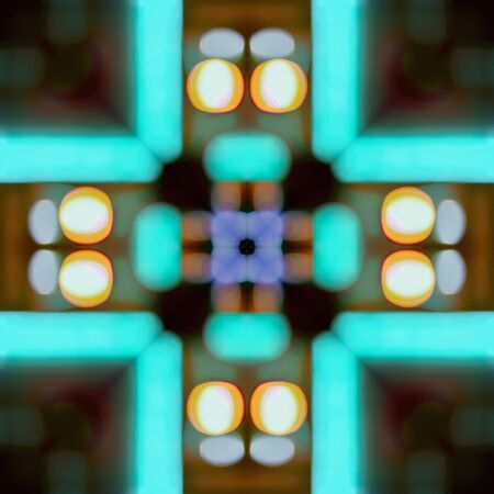Abstract kaleidoscopic seamless colorful pattern background texture Foto de archivo