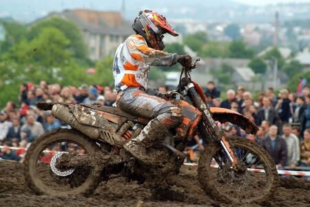 A reporting photo from extreme motoracing Stock Photo - 3358124