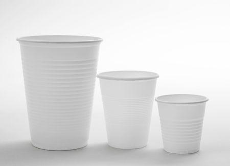 Vasos desechables Foto de archivo - 3744203
