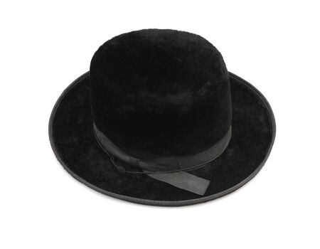 Traditional men jewish felt hat