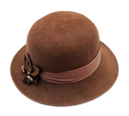 Womens stylish retro felt hat