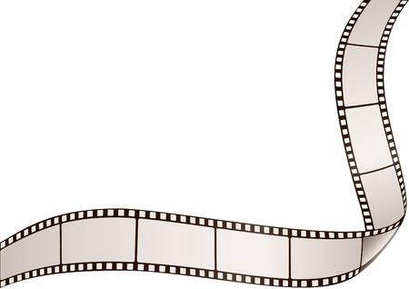 horisontal: filmstrip frame horisontal and vertical Illustration