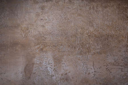 Brown stone wall for textured background with copy space