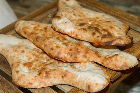 georgian: Homemade freash Georgian bread