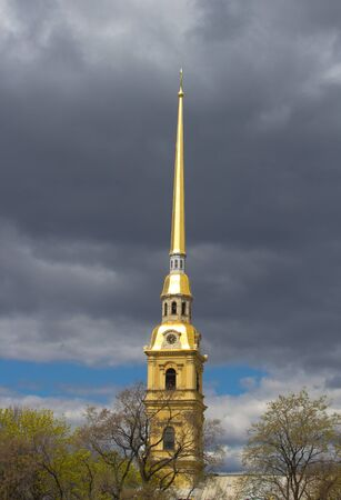 the Peter and Paul Fortress in Sankt-Petersburg