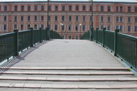 The bridge through the Fontanka River, Sankt-Petersburg  Russia  Stock Photo - 14219030