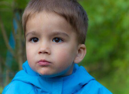 emotionality: portrait of the little boy