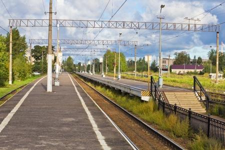 platform photo for passenger trains