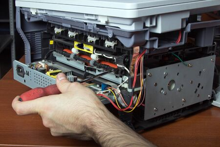 Repair Laser Printer photo