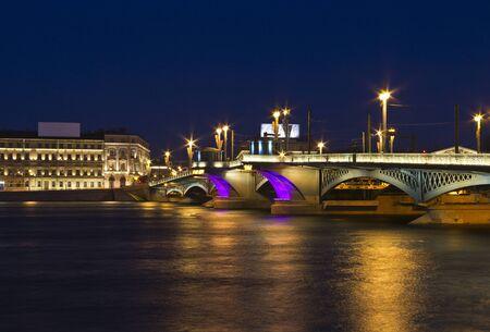 Annunciation Bridge (St. Petersburg, Russia) photo