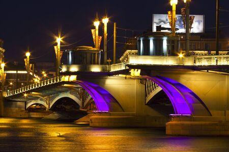 annunciation: Annunciation Bridge (St. Petersburg, Russia)
