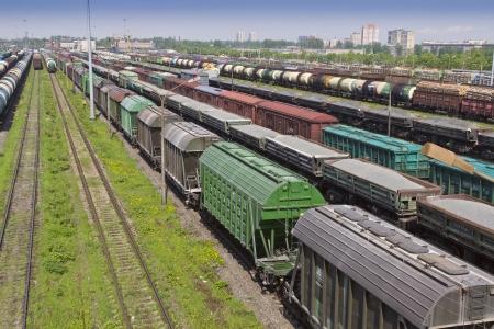 Railway sorting station photo