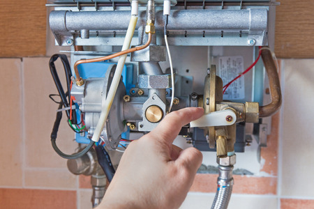 repair of the gas water heater