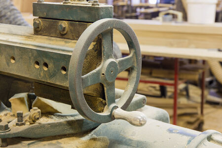 inoperative: a joinery shop with old machines