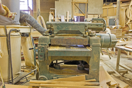joinery: a joinery shop with old machines