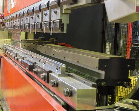 modern press brake in manufacturing photo