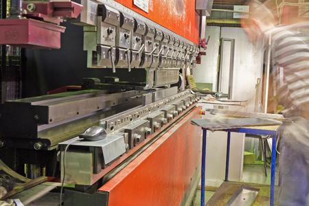 modern press brake in manufacturing