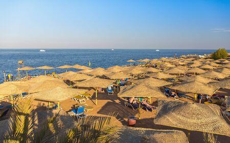 sharm el sheikh: Red Sea coastline in Sharm El Sheikh, Egypt, Sinai