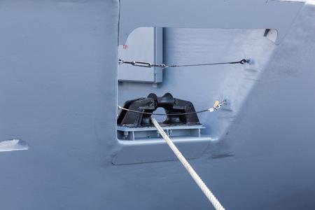 windlass: mooring equipment on a modern ship