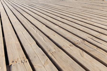 floorboards: wooden floorboards diagonally leaving aside