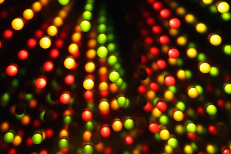 diode: multicolored diode lights on black background
