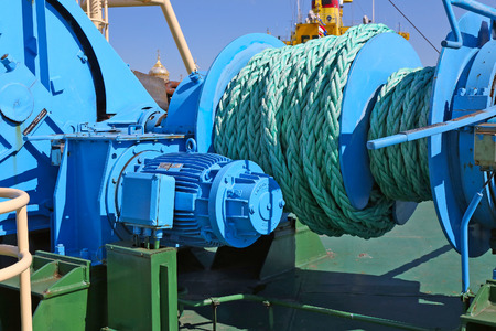 mooring: mooring equipment on-board ship