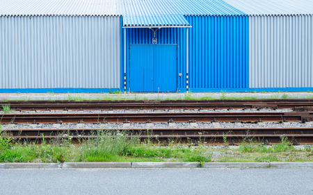 parking facilities: The exterior of the warehouse. The cargo terminal.