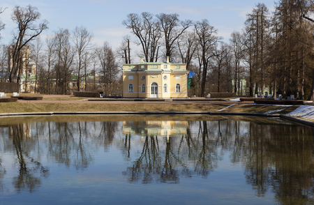 city pushkin: Pavilion Upper bath. City Pushkin. Russia.