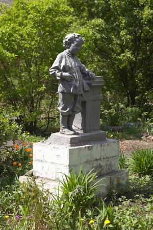 ulyanov: Monument Volodya Ulyanov. Nizhny Tagil. Russia. Editorial
