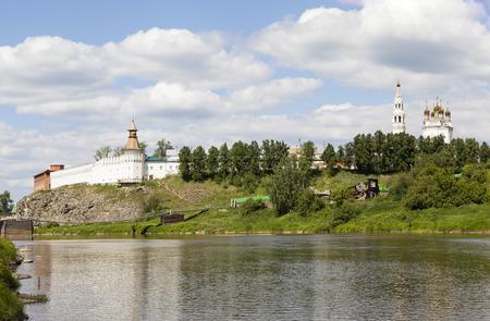 Kremlin, Troitsky Cathedral. Verkhoturye. Russia