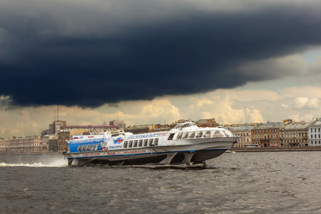 neva: Hydrofoil on the Neva
