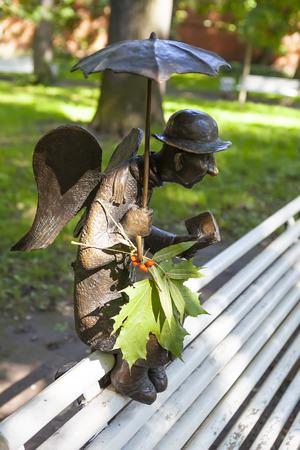 Petersburg Angel sculpture. St. Petersburg. Editorial